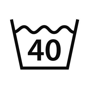 40 Grad Normalwaschgang